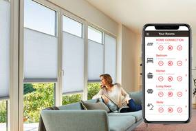 Home Connection Smart Blinds